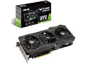 ASUS  NVIDIA GeForce RTX 3080 TUF GAMING OC 10GB Ampere Graphics Card