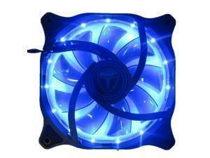 AvP Case Fan 12cm 15x Blue LED 3plus4 Pin Connector Case Fan