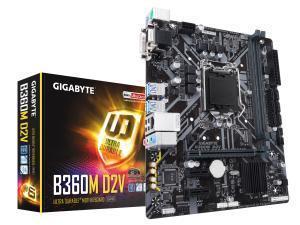 Gigabyte B360M D2V LGA1151 B360 Micro-ATX Motherboard