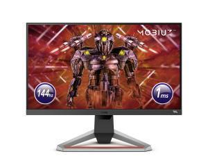 BenQ Mobiuz EX2510 24.5And#34; Full HD 1ms IPS 144Hz Gaming Monitor