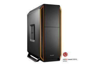 be quiet! Silent Base 800 Mid Tower case, Orange with 3 x Pure Wings 2 Fans