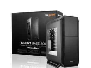 be quiet! Silent Base 800 Mid Tower case, Black with 3 x Pure Wings 2 Fans, Windowed Case