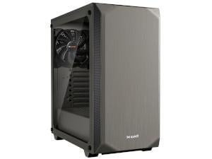 BeQuiet! Pure Base 500 Mid-Tower Tempered Glass -  Grey