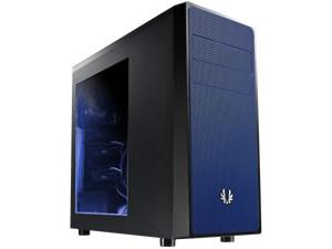 BitFenix Neos Mid Tower case, Black/Blue, Windowed