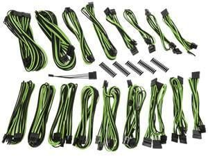 BitFenix Alchemy 2.0 PSU Cable Kit CSR-Series - Black And NVIDIA Green