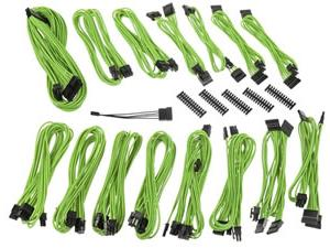 BitFenix Alchemy 2.0 PSU Cable Kit EVG-Series - NVIDIA Green
