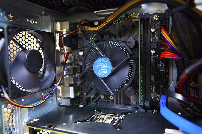 Intel CPU Stock Cooler