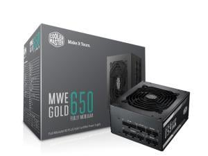 Cooler Master MWE 650W 80 Plus Gold Power Supply