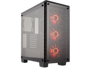 *Bstock - Large Mark On Rear Panel* Corsair Crystal Series 460X RGB Mid Tower Case