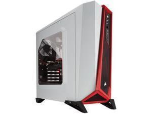 Corsair Carbide Series SPEC-ALPHA White / Red Mid Tower Case