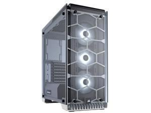 Crystal Series 570X RGB – Tempered Glass, Premium ATX Mid-Tower Case, WHITE