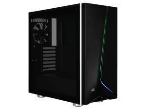 CORSAIR Carbide Series SPEC-06 Tempered Glass RGB Mid-Tower ATX Case, Black