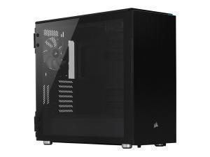 CORSAIR Carbide Series 678C Low Noise Tempered Glass ATX Case, Black