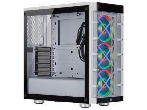 Corsair iCUE 465X RGB Mid-Tower ATX Smart White Case