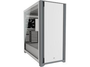 CORSAIR 5000D White Tempered Glass Gaming Case - Mid Tower