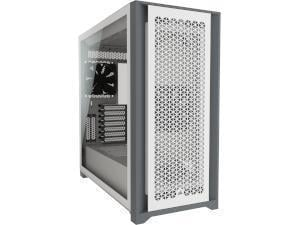 CORSAIR 5000D AIRFLOW White Tempered Glass Gaming Case - Mid Tower