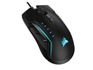 CORSAIR GLAIVE RGB PRO, Comfort FPS/MOBA Gaming Mouse