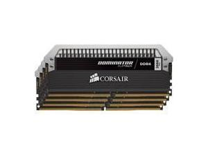 Corsair Dominator Platinum 16GB 4x4GB DDR4 PC4-21300 2666MHz Quad Channel Kit
