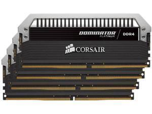 Corsair Dominator Platinum 32GB 4x8GB DDR4 PC4-25600 3200MHz Quad Channel Kit
