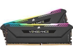 Corsair Vengeance RGB Pro SL 32GB 2x16GB DDR4 3600MHz Dual Channel Memory RAM Kit