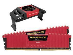 CORSAIR VENGEANCE LPX 16GB 2x8GB DDR4 4000 PC4-32000 Red - With Vengeance Airflow