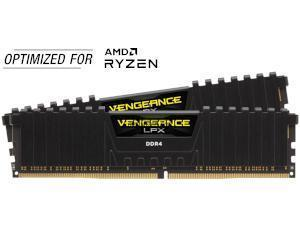 Corsair Vengeance LPX Black 16GB 2x8GB DDR4 3600MHz Dual Channel Memory RAM Kit AMD Ryzen Edition