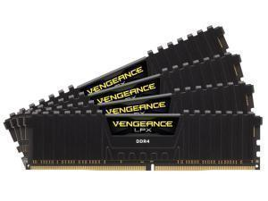 Corsair Vengeance LPX Black 16GB 4x4GB DDR4 PC4-19200 2400MHz Dual Channel Kit Skylake