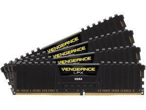Corsair Vengeance LPX Black 32GB 4x8GB DDR4 PC4-19200 2400MHz Quad Channel Kit