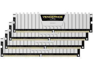 Corsair Vengeance LPX White 32GB 4x8GB DDR4 PC4-25600 3200MHz Quad Channel Kit