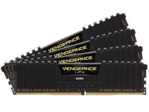 Corsair Vengeance LPX Black 32GB 4x8GB DDR4 3600MHz Quad Channel Memory RAM Kit