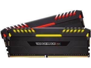 Corsair Vengeance RGB 16GB 2x8GB DDR4 PC4-25600 3200MHz - Dual Channel Kit
