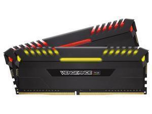 Corsair Vengeance RGB 16GB 2x8GB DDR4 PC4-21300 3200MHz Dual Channel Kit