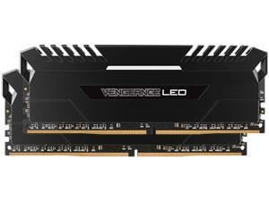 Corsair Vengeance White LED 16GB 2x8GB DDR4 PC4-21300 2666MHz Dual Channel Kit