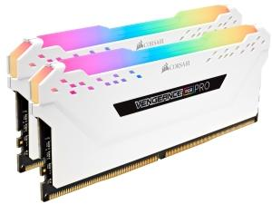 Corsair Vengeance RGB Pro White 32GB 2x16GB DDR4 2666MHz Dual Channel Kit