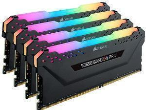 Corsair Vengeance RGB Pro 32GB 4x8GB DDR4 3000MHz Quad Channel Kit