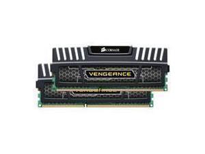 Corsair Vengeance Black 8GB 2x4GB DDR3 PC3-12800 1600MHz Dual Channel Kit