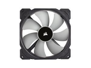 Corsair ML140 PRO 140mm Premium Magnetic Levitation Fan GREY BLADES BLACK SURROUND OEM FAN