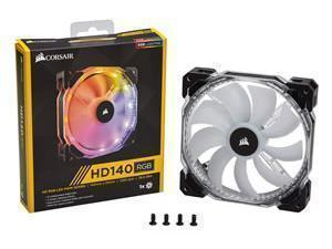 Corsair HD140 RGB LED 140mm Fan Single Fan, No Controller