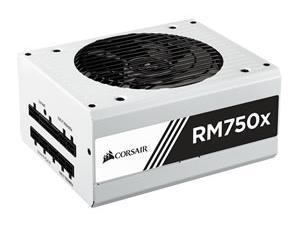 Corsair RM750x White Series 750w Fully Modular Power Supply