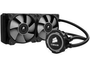 Corsair Hydro Series H105 Extreme Performance Liquid CPU Cooler - LGA2066 Supported - TR4 Supported