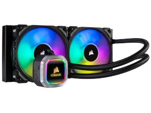 CORSAIR Hydro Series H100i RGB PLATINUM 240mm All-In-One CPU Cooler