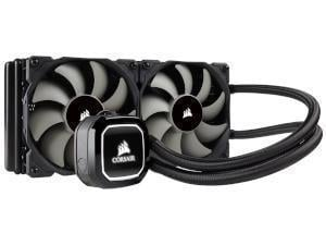 Corsair Hydro Series, H100x, 240mm Radiator, Dual 120mm PWM Fans, Liquid CPU Cooler