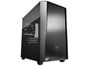 COUGAR MG130-G Compact Gaming Case with Tempered Glass Window - Mini-Tower