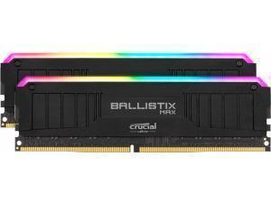 Crucial Ballistix MAX RGB 32GB 2x16GB DDR4 4400MHz Dual Channel Memory RAM Kit