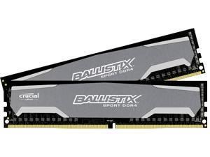 Ballistix Sport 16GB Kit 2 x 8GB DDR4 PC4-19200 UDIMM