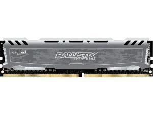 Crucial Ballistix Sport LT Grey 8GB DDR4 2666MHz Memory Module