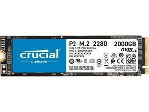 Crucial P2 2TB M.2 NVMe PCIe SSD