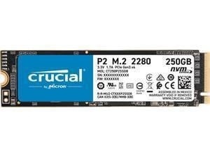 Crucial P2 250GB M.2 NVMe PCIe SSD