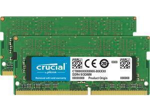 Crucial 32GB 2x16GB DDR4 2400MHz SO-DIMM Dual Channel Memory RAM Kit
