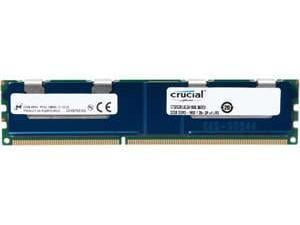 Crucial 32GB DDR3 PC3-12800 LRDRIMM, Load Reduced, ECC 1.35V